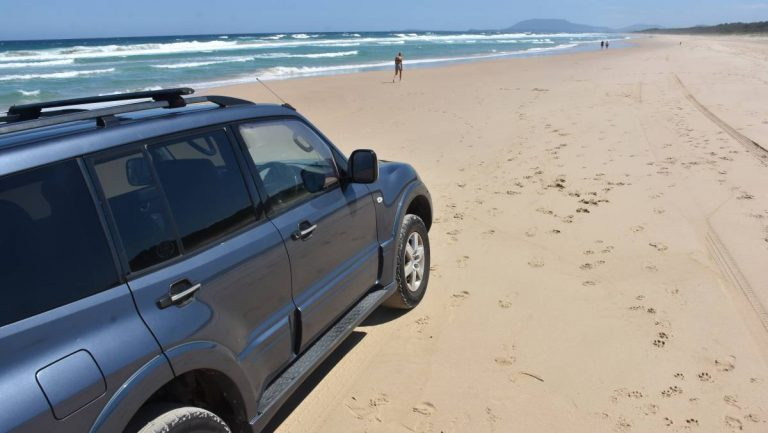 What to do if your car is stuck in sand, mud or water